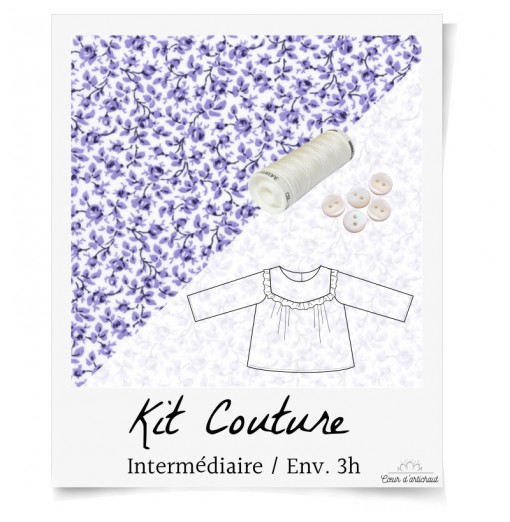 KIT COUTURE BLOUSE BEBE...