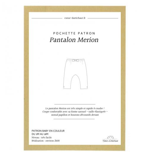 POCHETTE PATRON PANTALON...