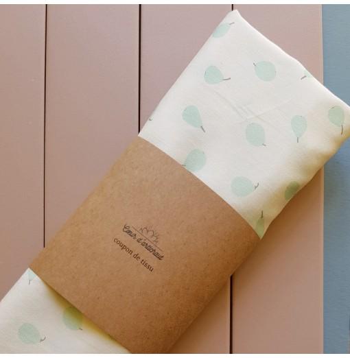 Coupon tissu – Satin coton...