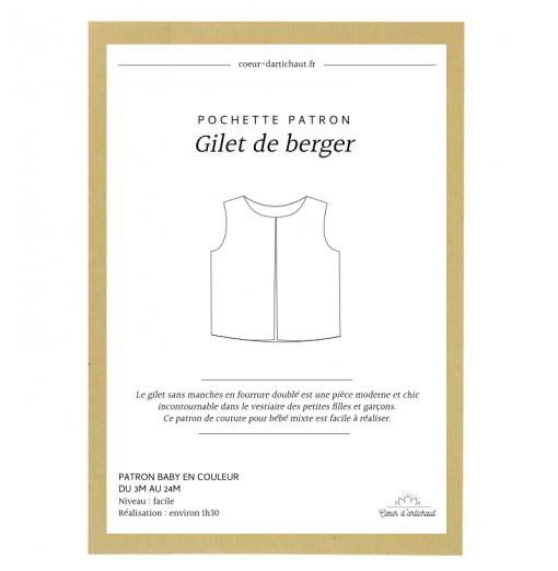 PATRON PDF GILET SANS...