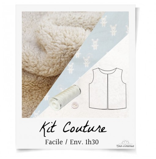 KIT COUTURE GILET BERGER EN...