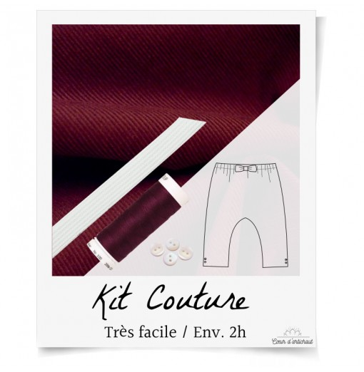 KIT COUTURE PANTALON...